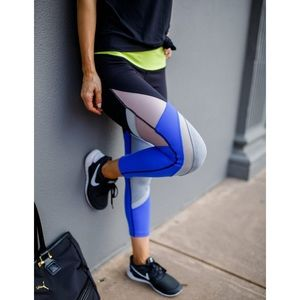 Splits59 Colorblock Crop Leggings